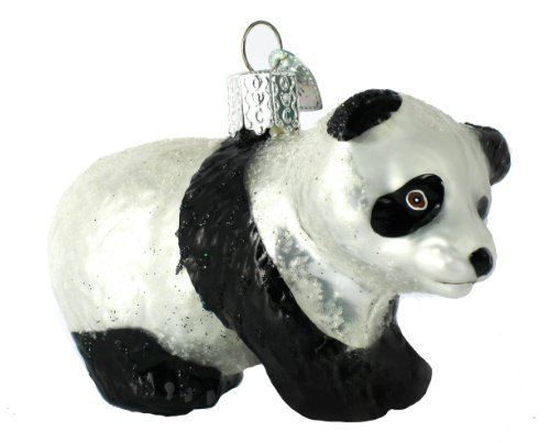 (Panda Cub Ornament by Old World)
