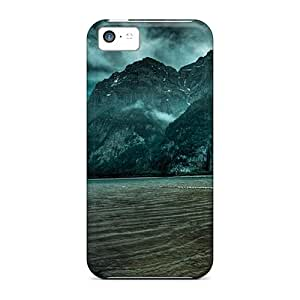 Fashion ShYgDXR5973OsDkM Case Cover For Iphone 5c(glorious Green Hued Alpine Lake Swizerl)