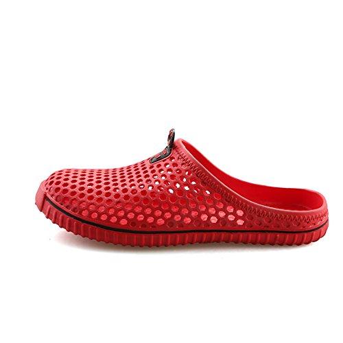 Aleader Performance - Zuecos de goma eva para mujer Red2233