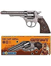 Cowboy-pistool gegoten metaal 8