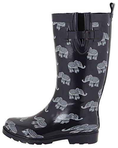 Capelli New York Damer Glänsande Tall Rain Navy Elefant