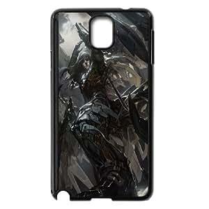 Malka Galaxy Saga 3 funda Samsung Galaxy Note 3 Negro de la cubierta del teléfono celular de la cubierta del caso funda EOKXLKNBC29893
