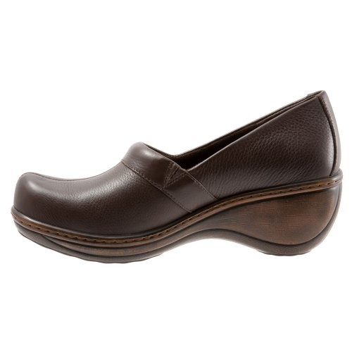 Dark Brown Brown Leather Women's SoftWalk Melody Yqwv766