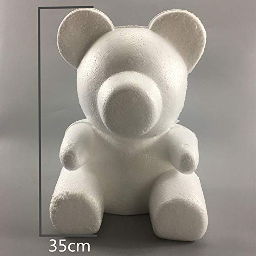Yooha 3D Foam Bear Shaped Modeling Mold for DIY Flower Craft Decoration Birthday Valentine Party Wedding Supplies Handcraft Gift -