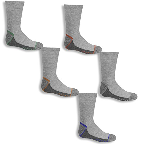 Fruit of the Loom Boys Everyday Active Crew Socks 6 Pairs ()