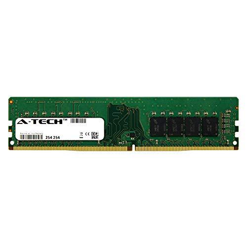 (A-Tech 8GB Module 2400Mhz PC4-19200 288-Pin Dimm DDR4 1.2v Non ECC 2rx8 Desktop Computer Memory Ram Stick (AT8G1D4D2400ND8N12V))