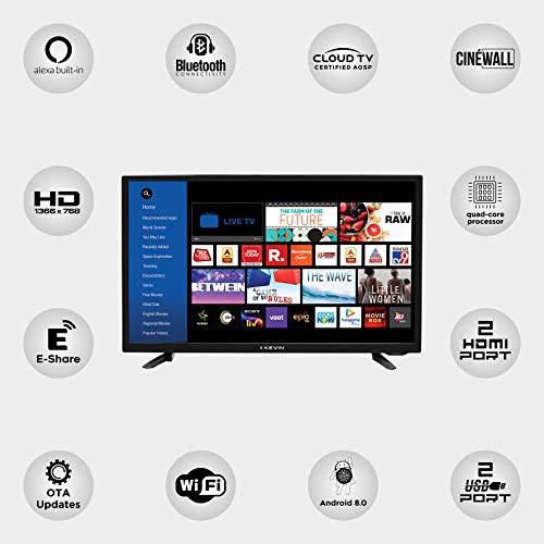 Kevin 32 Inch Smart Led TV Smart LED TV HD Ready KN32A