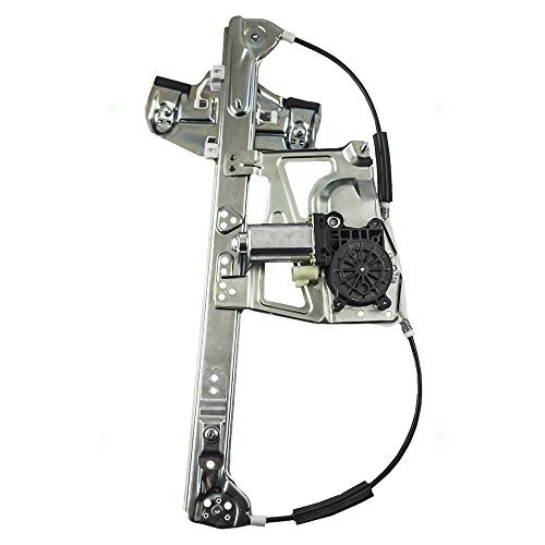 Drivers Front Power Window Lift Regulator with Motor Assembly Replacement for Cadillac 17801304 ()
