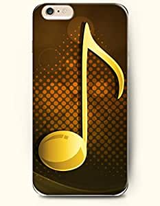 OOFIT iPhone 6 Case ( 4.7 Inches ) - Yellow Music Note by supermalls