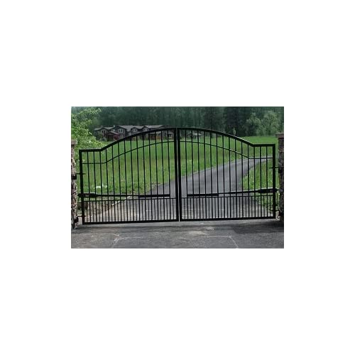 Mighty Mule Driveway Gate Double Gate Biscayne 16ft