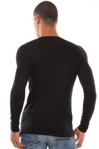 DOREANSE THERMAL Langarmshirt (schwarz)