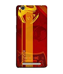 ColorKing Football Spain 08 Red shell case cover for Xiaomi Redmi 5A