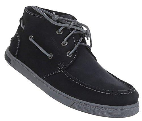 Herren Halbschuhe Schuhe Leder außen und innen Schnürschuhe schwarz camel blau 41 42 43 44 45 46 Schwarz