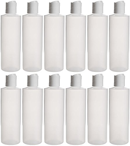 Buy cheap earths essentials twelve pack refillable squeeze bottles with one hand press cap dispenser tops great