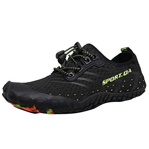 Alpine Trekking Pole - YOcheerful Summer Water Shoes Outdoor Casual Sports Shoes Mesh Round Toe Couple Shoes Hot Lightweight Shoes Black