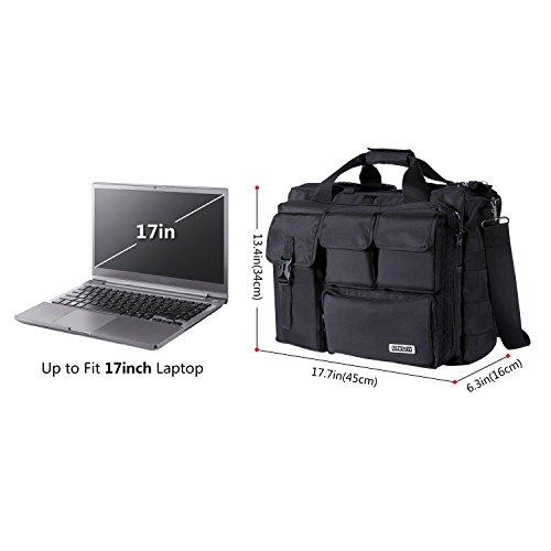 300abee981e5 Jual Lifewit 17.3  Men s Military Laptop Messenger Bag Multifunction ...
