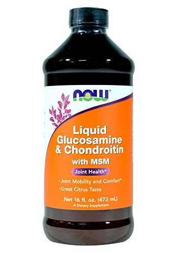 Cheap NowFoods Liquid Glucosamine & Chondroitin With Msm, 16 Ounce