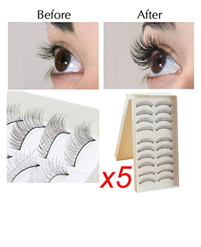 valer-5x10pairs-sheet-makeup-handmade-natural-black-long-false-eyelashes-eye-lashes-sparse