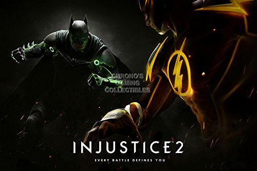 CGC Huge Poster - Injustice 2 Ps4 Xbox One