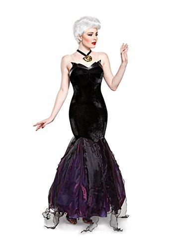 Disney Women's Ursula Prestige Adult Costume, Black, Large for $<!--$74.99-->