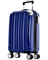 Olympia Stanton 21-Inch Carry-On Hardcase Spinner with TSA Lock BU