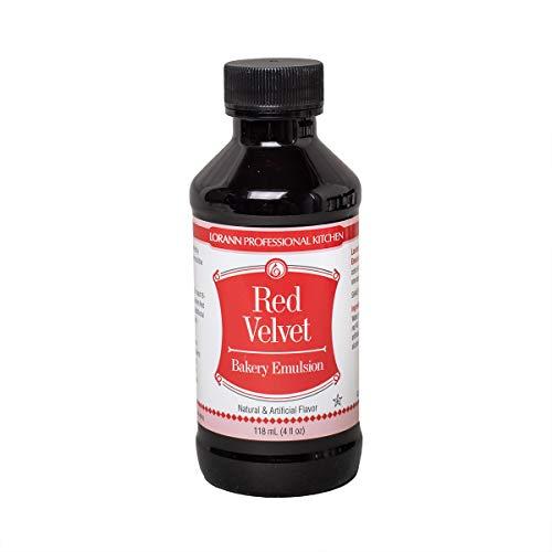 LorAnn Red Velvet Bakery Emulsion, 4 Ounce Bottle (Collection Red Velvet)