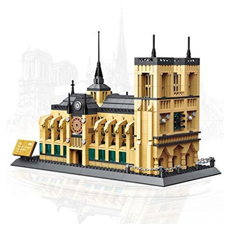 Luxury & Trendy Notre-Dame De Paris Building Blocks Sets City Bricks Classic Skyline Model Gift Toys Compatible Legoings (Notre Dame Toys)