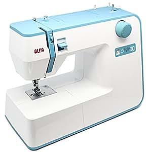 Alfa STYLE 30 - Máquina de coser, color azul