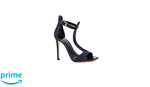 43ab0c6a7a Amazon.com | Brian Atwood Leigha Black (10) | Heeled Sandals