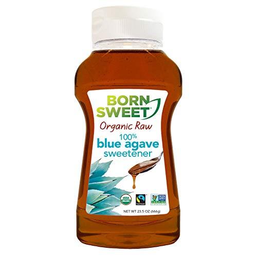 - Born Sweet 100% Organic Raw Blue Agave Sweetener - 23.5 Ounces