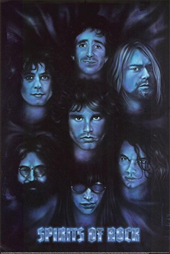 Spirits of Rock Poster 24 x 36in with Poster Hanger