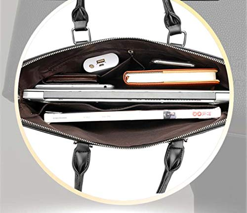 Office Bag Business body Leather Cross Handbag Backpack Briefcase Black Pu Fashion Men's vxAYdqBd