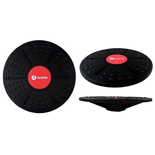 BodyRip Planche déquilibre avec surface antidérapante–Noir, 40cm