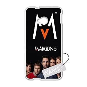 maroon 5 HTC One M7 Plastic Case, maroon 5 DIY Case for HTC One M7 at WANNG