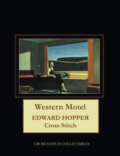 Western Motel: Edward Hopper Cross Stitch Pattern