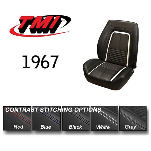 TMI Products 10004766 Sport R Seat Upholstery 1967 Camaro Coupe Full Set (Front