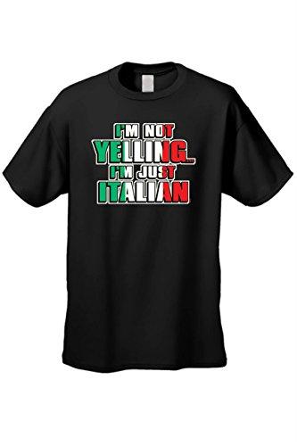 'm Not Yelling I'm Italian Humor Short Sleeve T-shirt ()