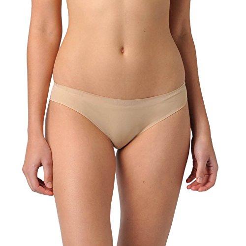 Naked Signature Seamless Barely There Bikini Panty Women Underwear - Beige M