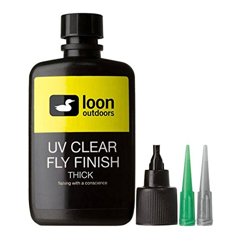 Loon Outdoors UV CLEAR FLY FINISH - THICK, 2 oz.