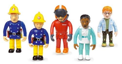 Fireman Sam Set of 5 Articulated