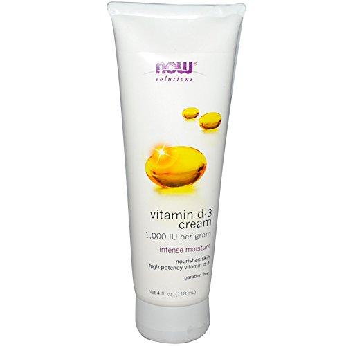 Now Foods Vitamin D 3 Cream