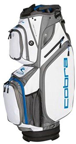 Cobra Golf 2018 Ultralight Cart Bag (White-Electric - Bag Electric Carts Golf