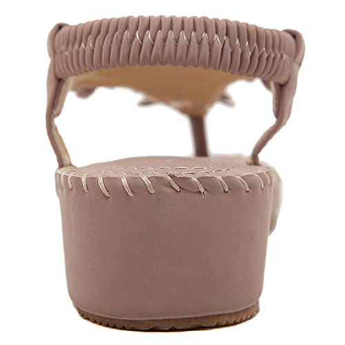 CFP - Zapatos con correa de tobillo mujer Rosa