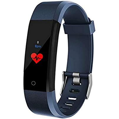 DMMDHR Smart Bracelet Sport Smart Watch Blood Pressure Exercise Dynamic Heart Rate Monitoring Pedometer Smart Wristband for Android iOS Estimated Price £25.90 -