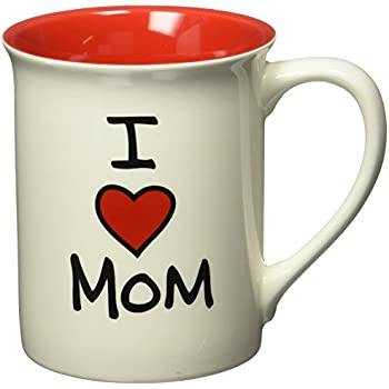 Amazon Com I Love My Mom Mug Cup 11 Ounces Coffee