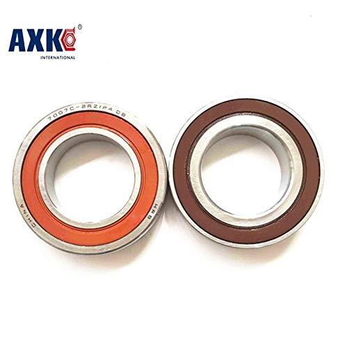 Ochoos 1pcs 7000 7000C 2RZ P4 10x26x8 Ochoos Sealed Angular Contact Bearings Speed Spindle Bearings CNC ABEC-7