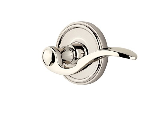 Grandeur Georgetown Rosette with Right Handed Bellagio Lever, Privacy - 2.375