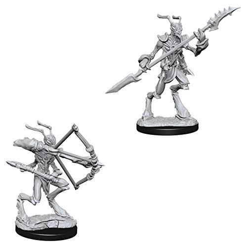 Githzerai Thri-Kreen Dungeons /& Dragons Nolzurs Marvelous Unpainted Miniatures Bundle