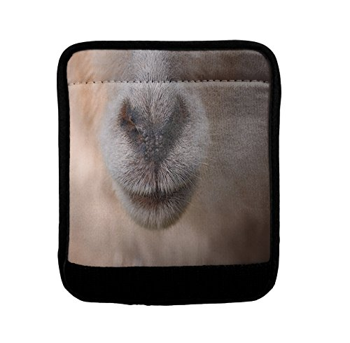 Animal Nose Luggage Handle Wrap Finder