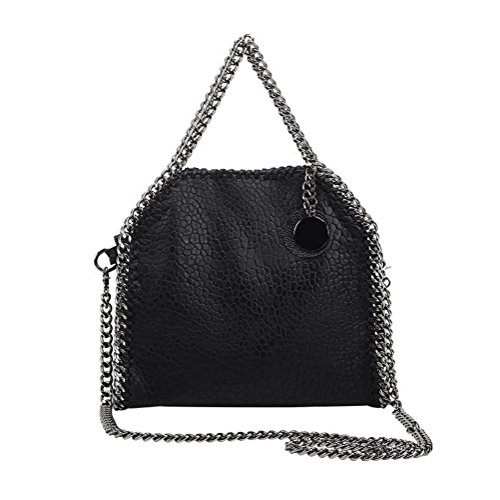 Ms. Crossbody Bag 2017新しいチェーンバッグファッションショルダーバッグ(ブラック)ZXYCC